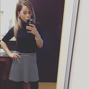 Candie's Black & White Skirt